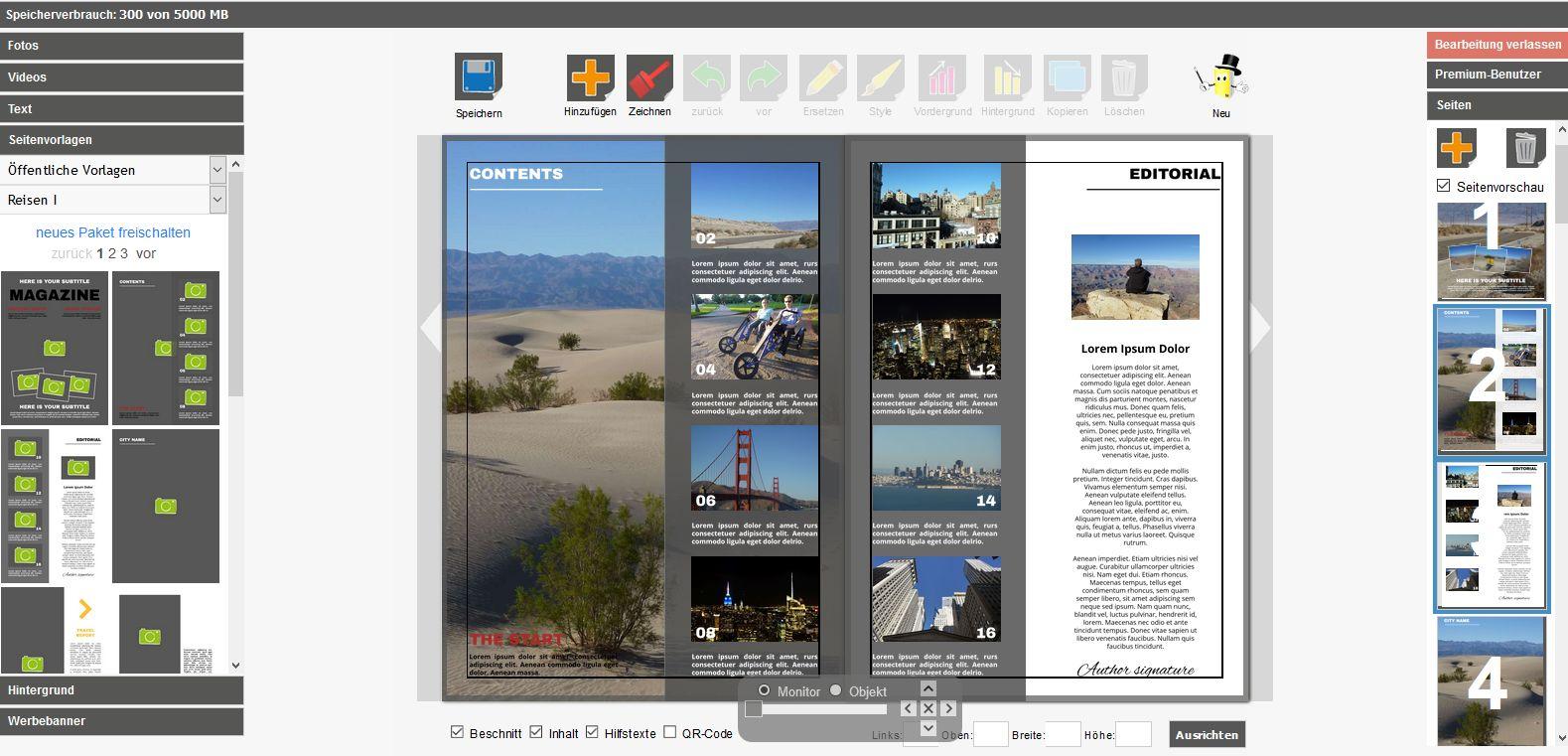 Online Magazin erstellen   Magazin günstig drucken